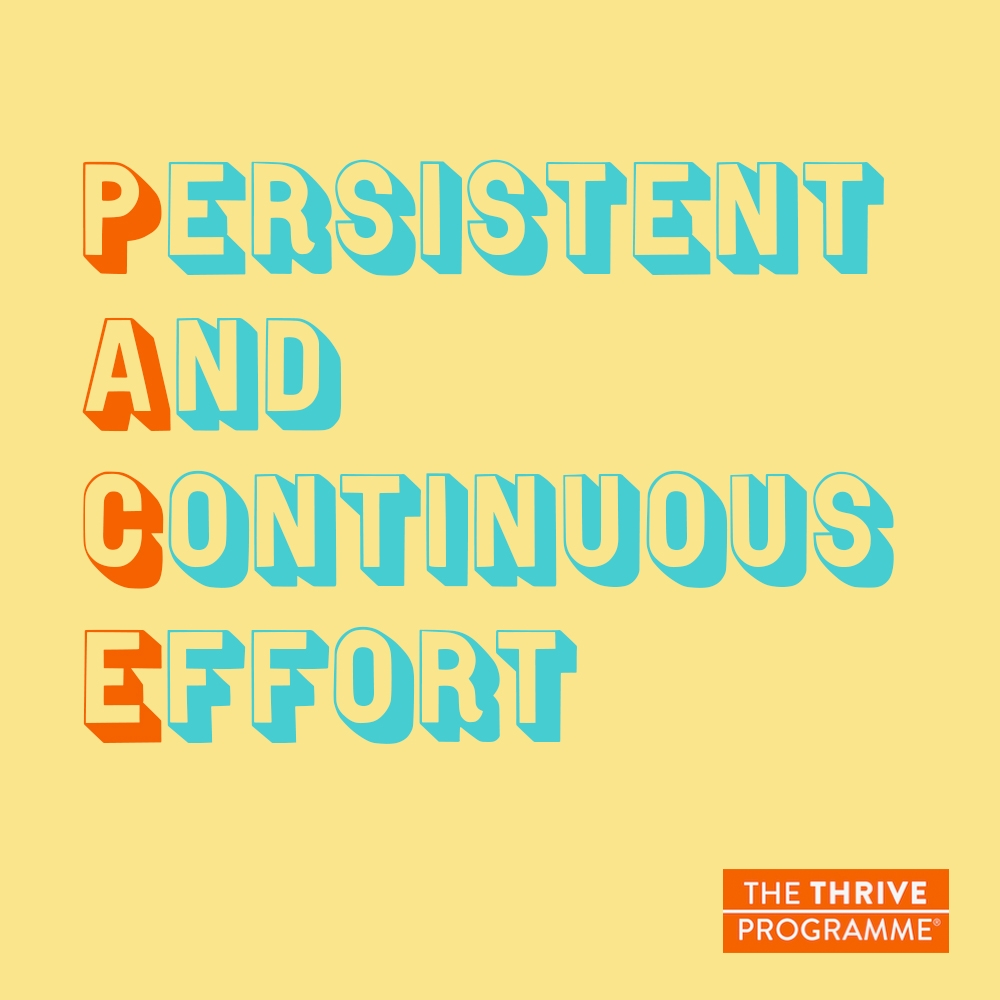Persistent And Continuous Effort P A C E Yourself Emetophobia Free The Thrive Programme For Emetophobia